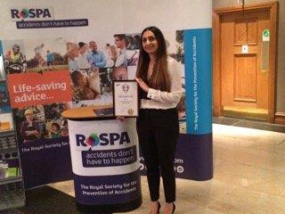 PAS Awarded ROSPA Gold Award 2017