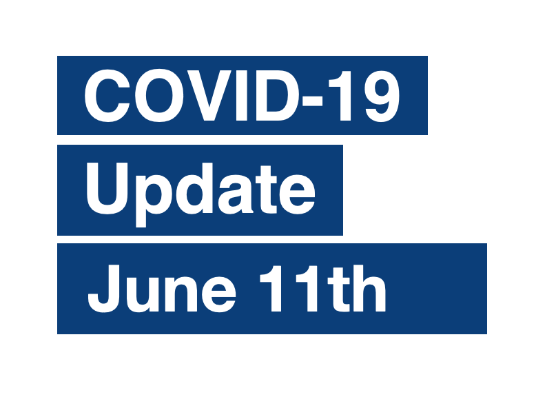 PAS Update on Coronavirus (COVID-19) June 11th